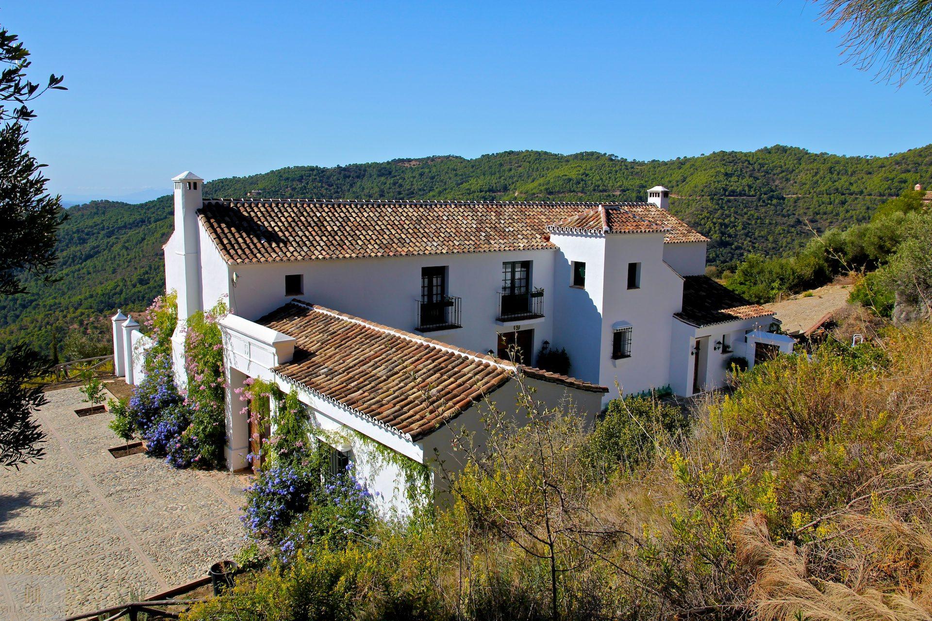 11 Luxury Country house Gaucin for sale