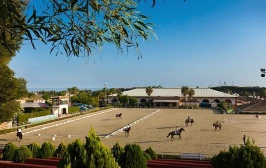 The Escuela ecuestre in Estepona