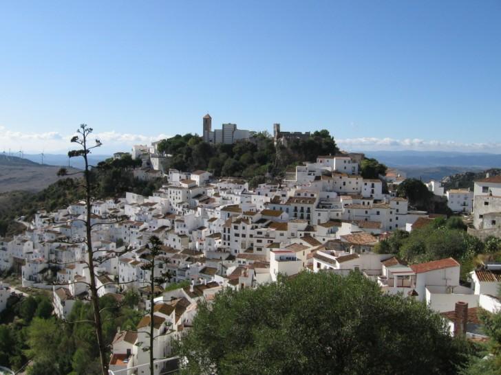 White village of Casares