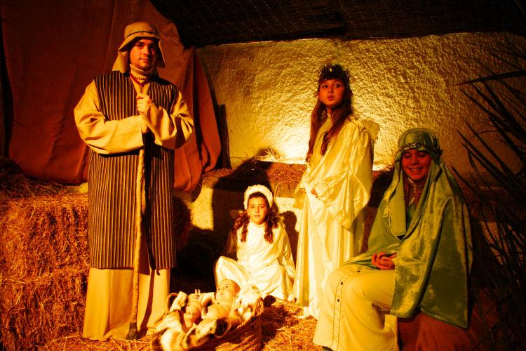 Christmas in Casares children