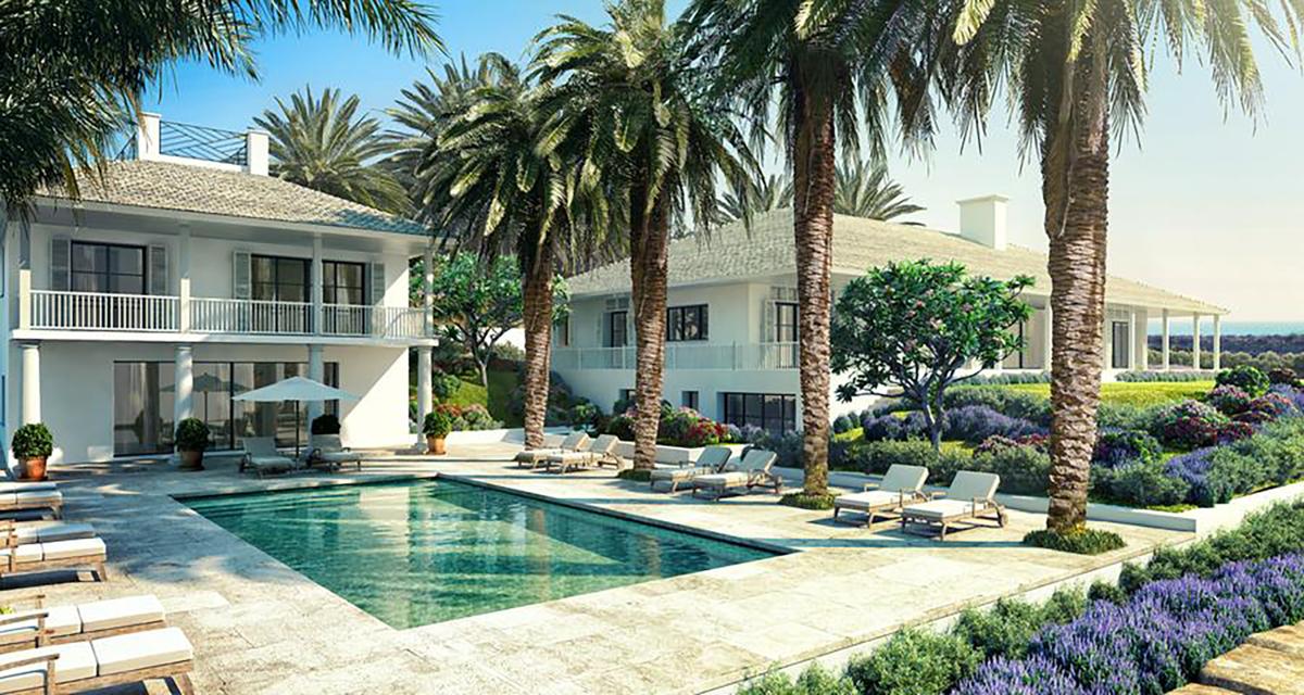 luxury villa Casares