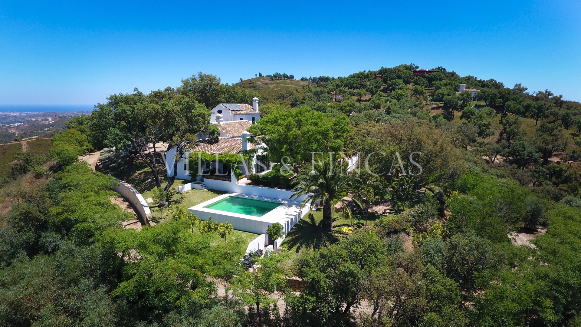 luxury villa inland Andalusia Ojen