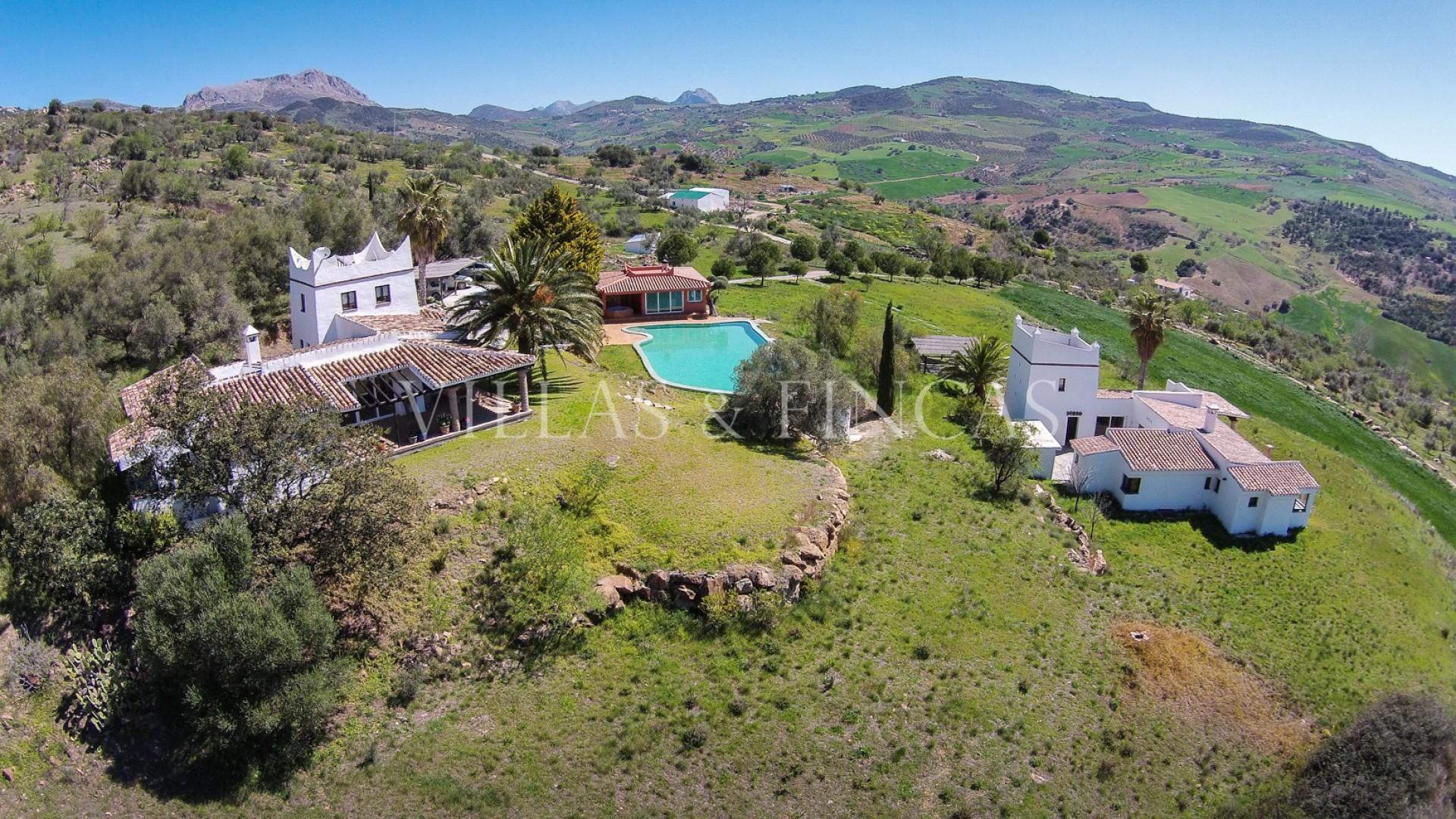 luxury villa inland Andalusia Malaga