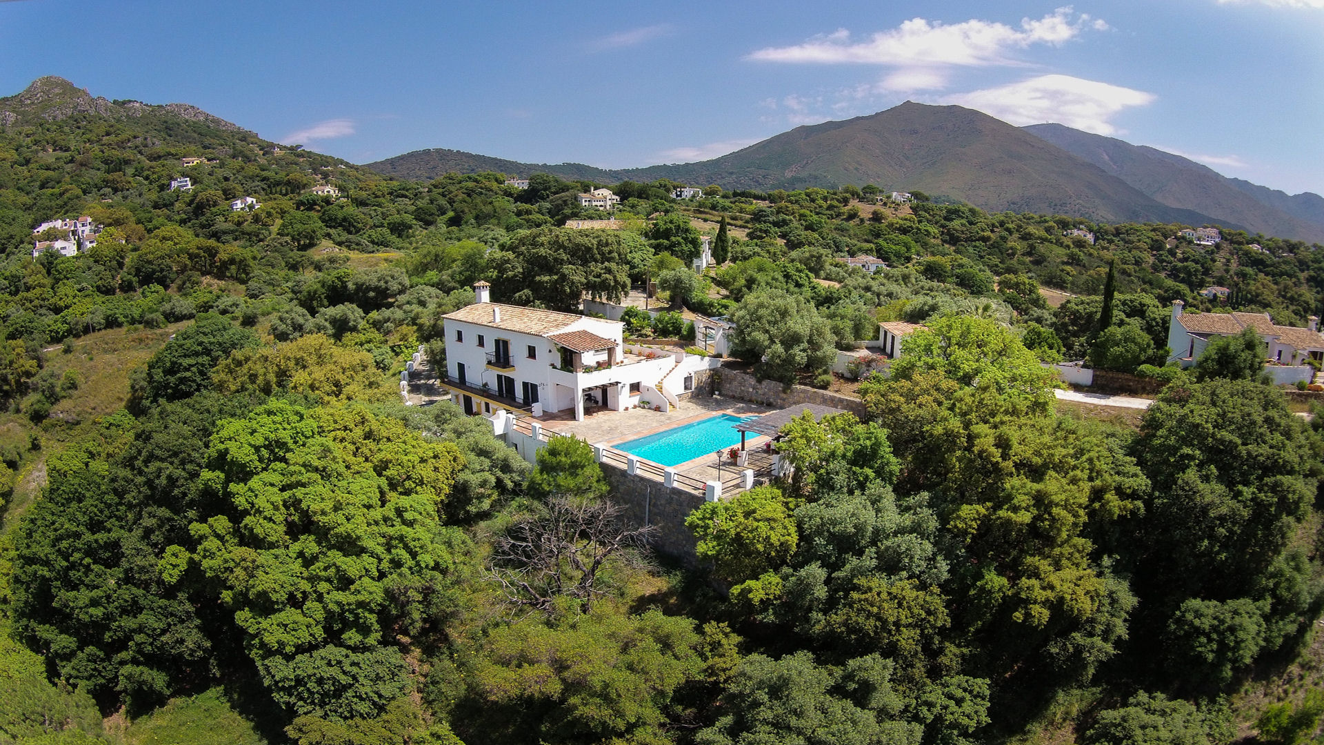 Country property Casares Andalusia