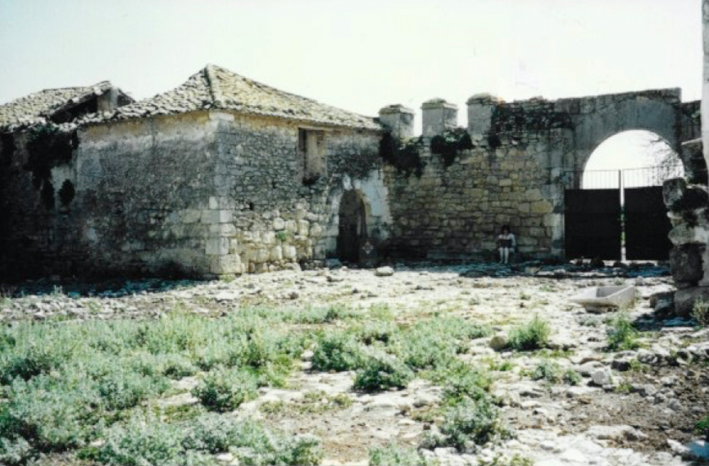 Ruin of historical property in Andalusia