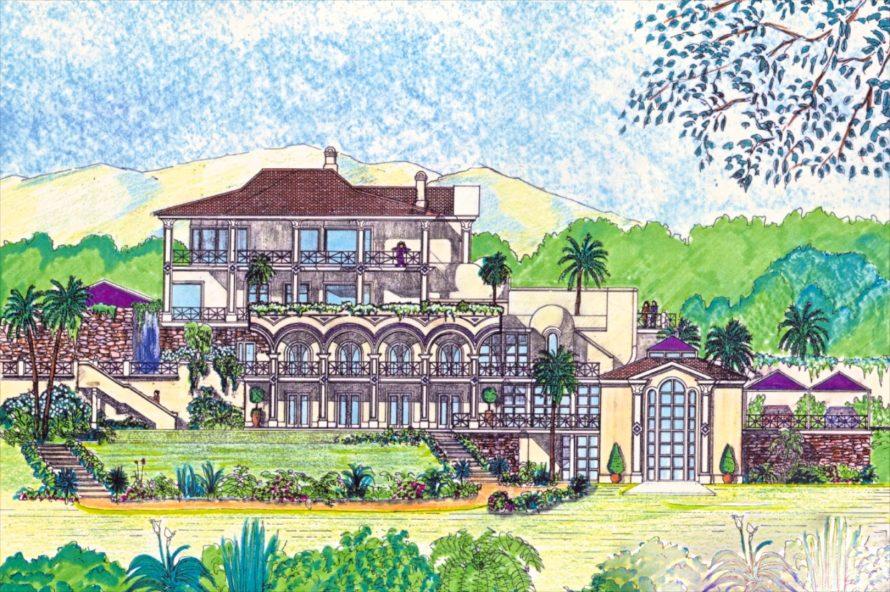 Plot for luxury villa mansion near Marbella in Andalusia