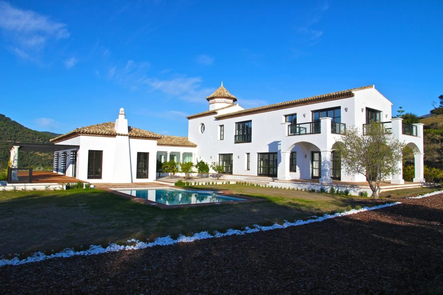 Large villa Gaucin