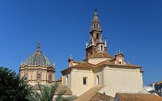de stad Carmona in Andalusie