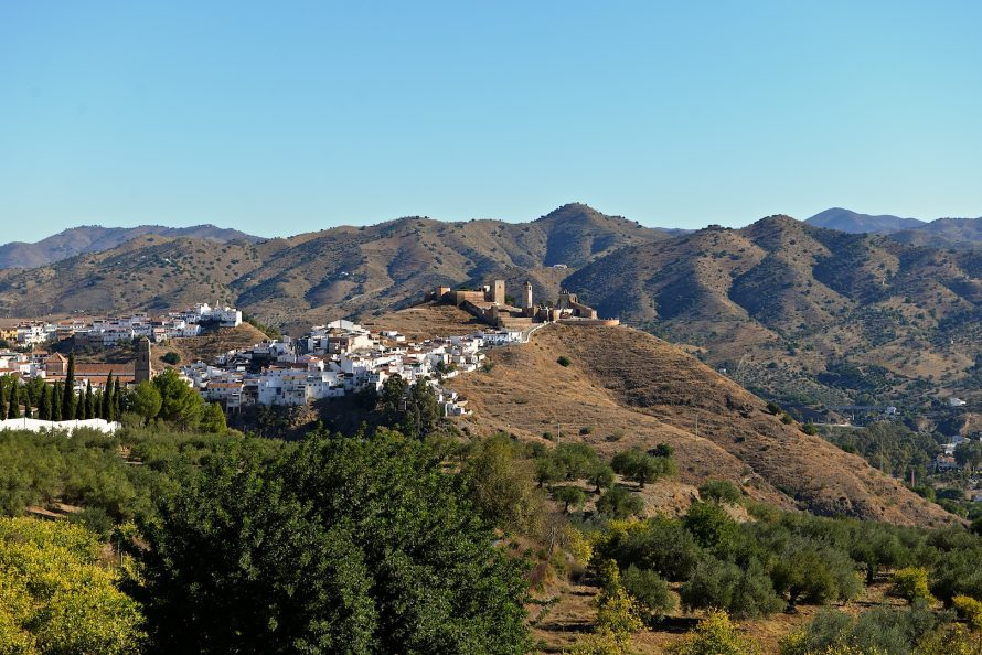 The white village of Alora