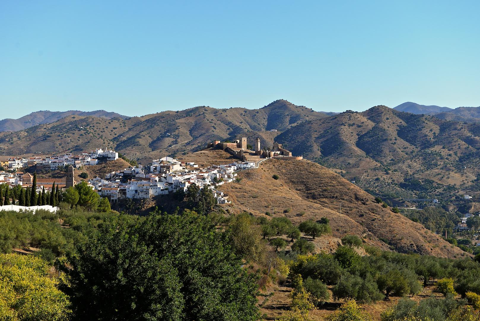 The white village of Alora