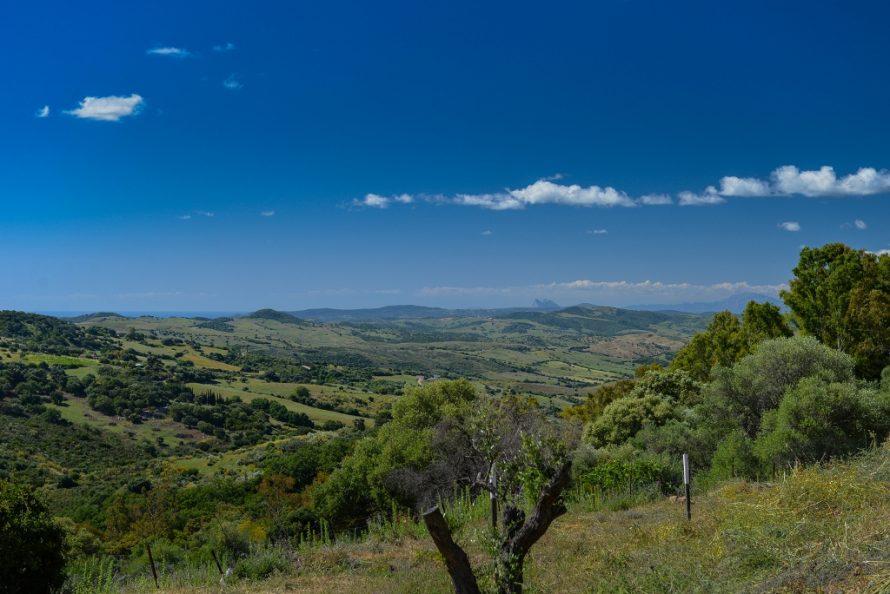 View from Gaucin villa