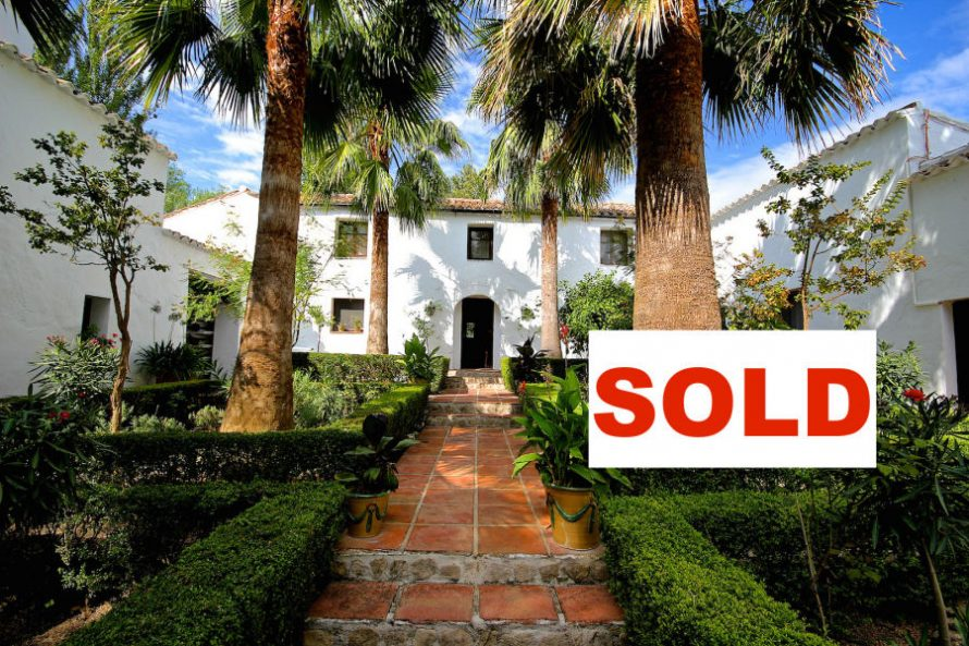 Country estate Ronda sold