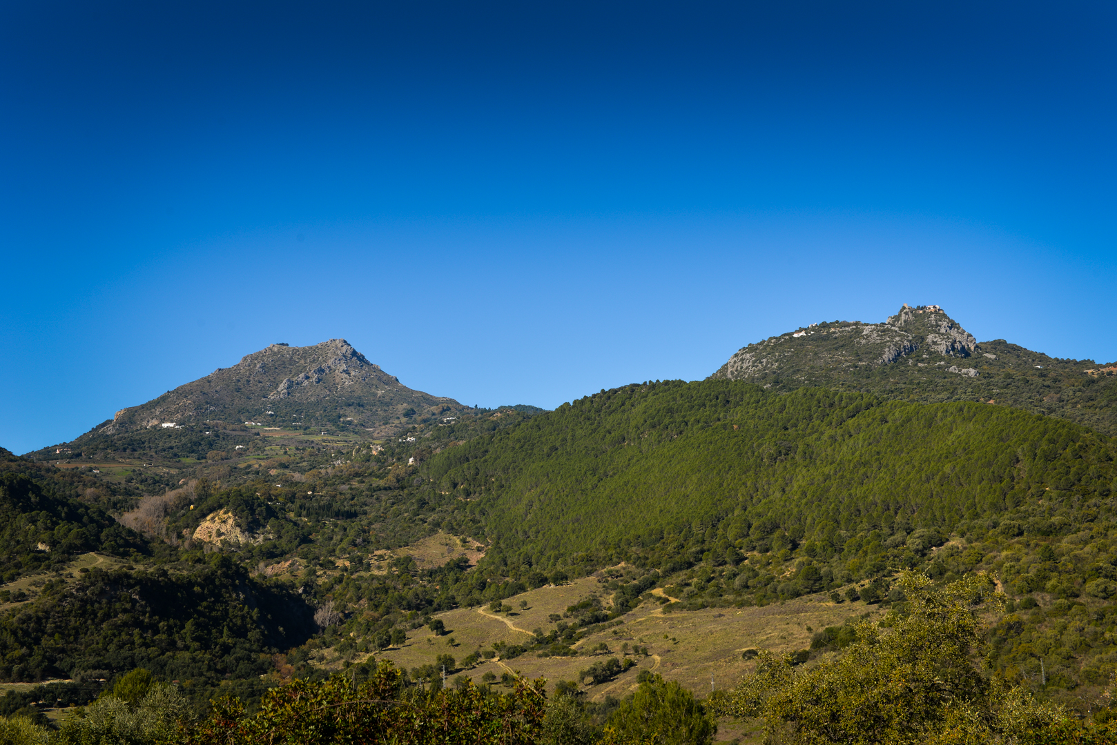 Gaucin mountains
