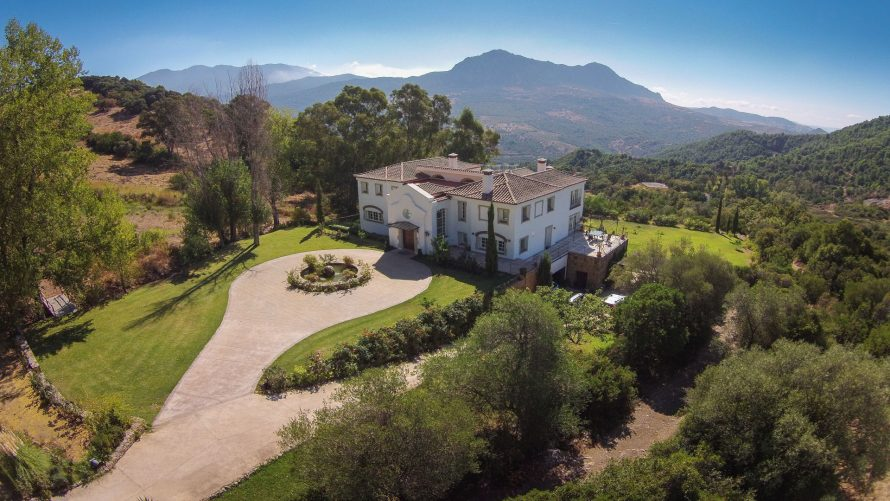 exclusive country villa Gaucin