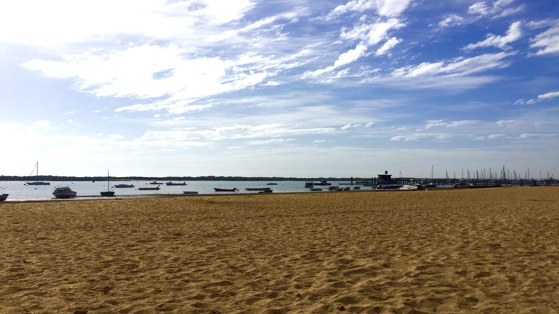 El Rompido Beach in Huelva Andalusia