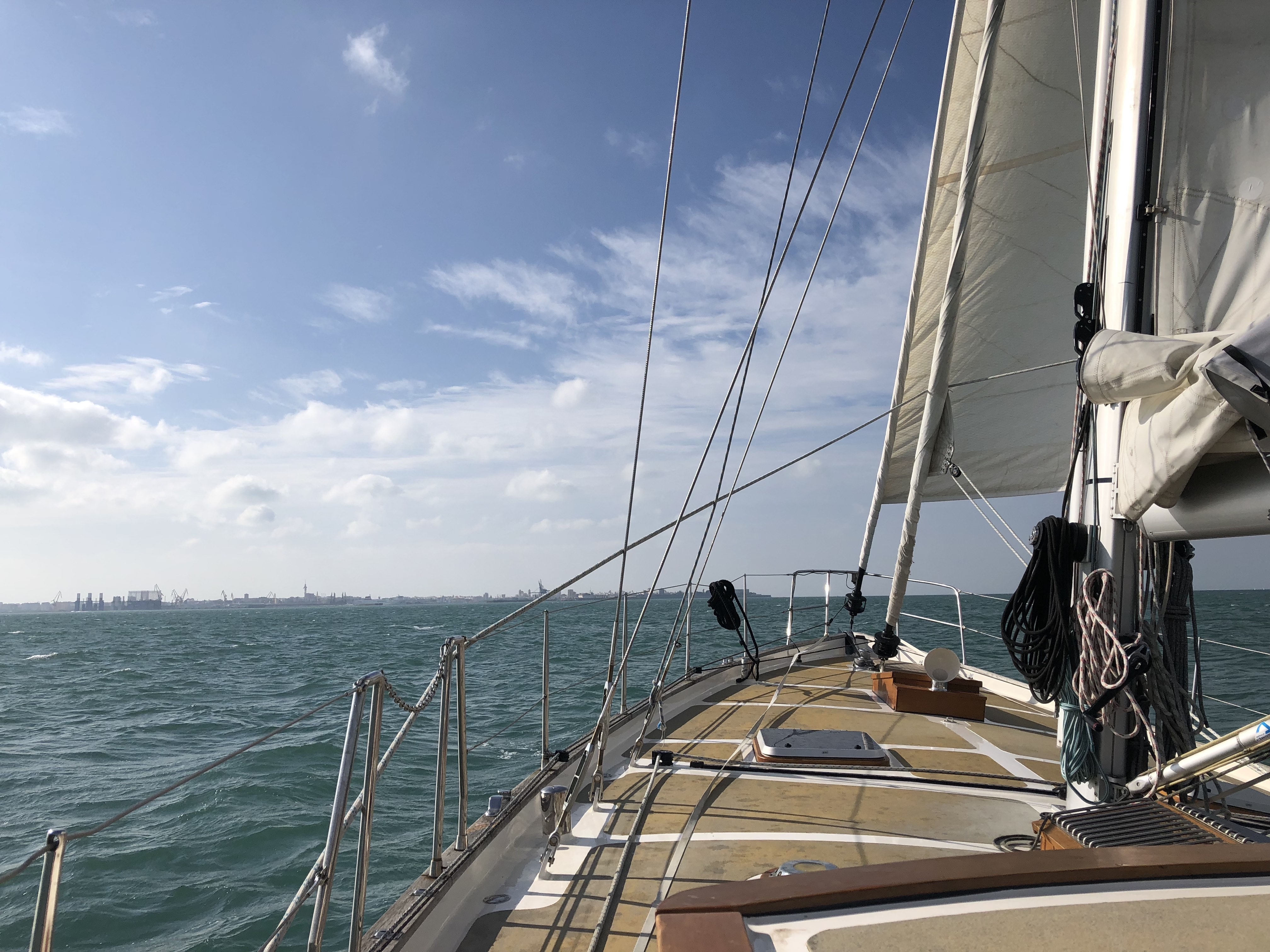 Sailing in the Bay of Cadiz