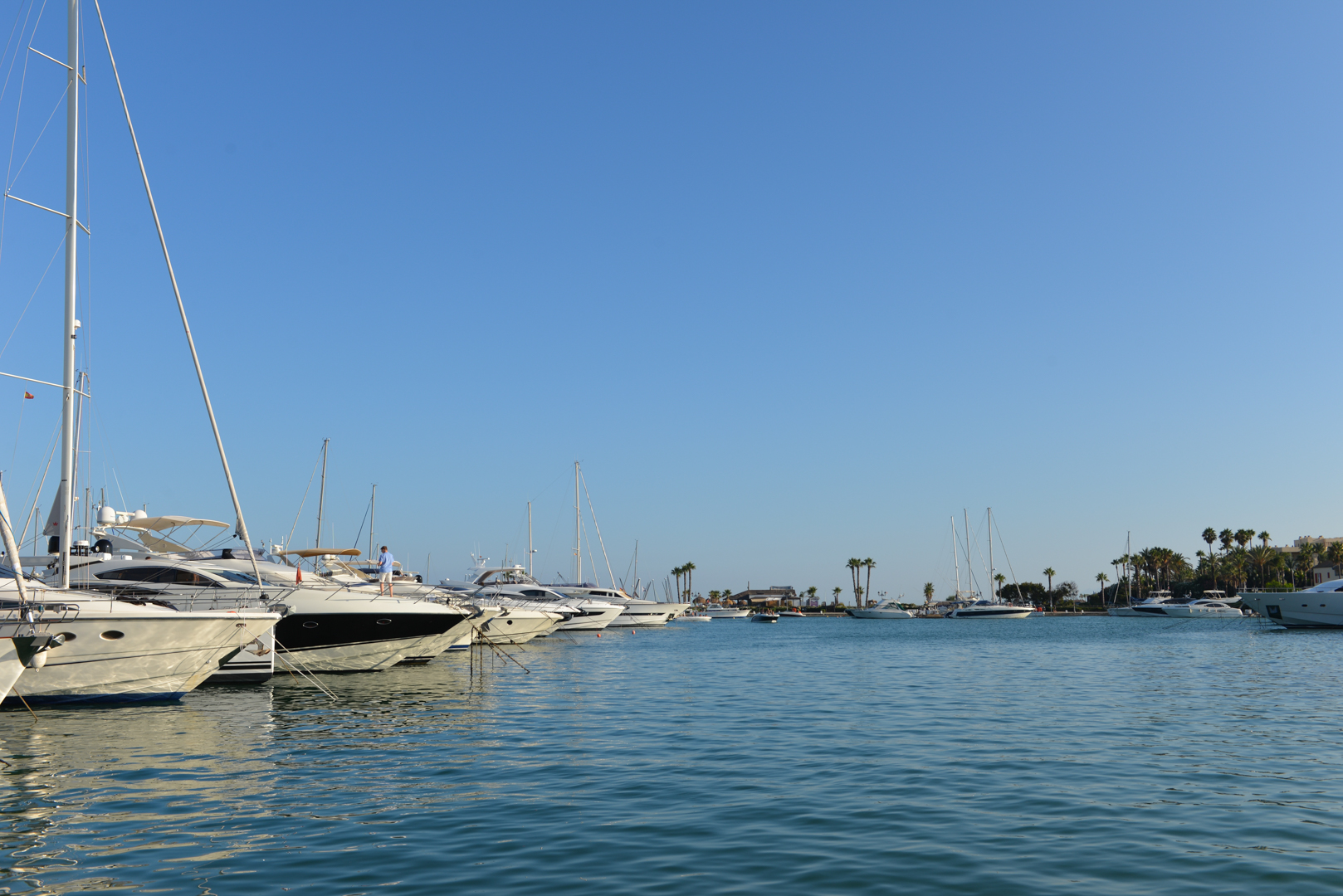 Sotogrande boats in harbour