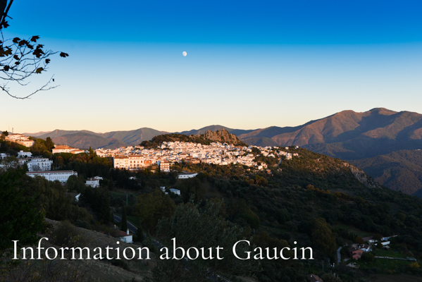 Information about Gaucin Blog