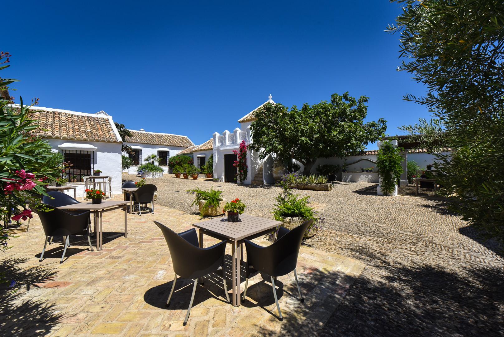 Andalusian courtyard, Ronda
